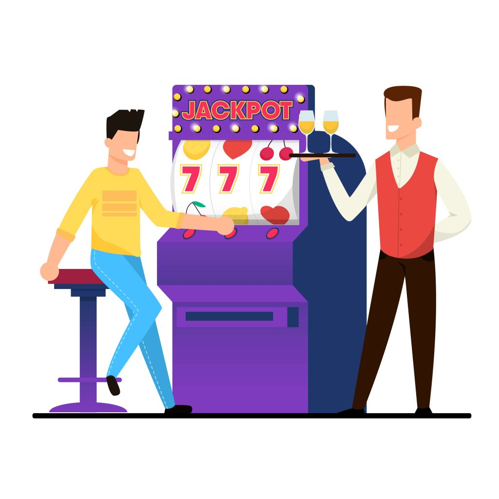 people_and_slot_machine